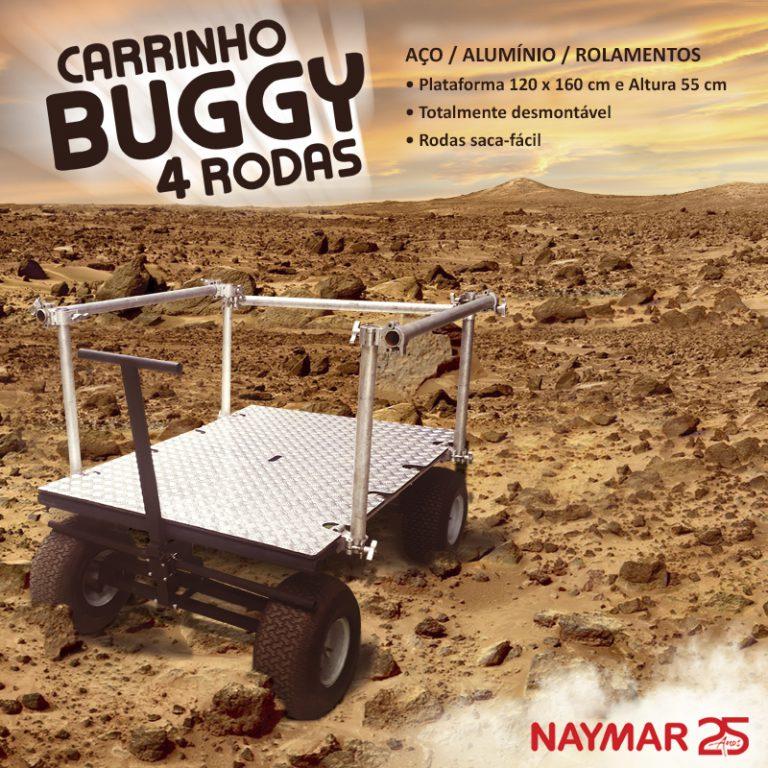 Carrinho Buggy 4 rodas